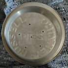 """Vintage Russell Phinney Pie Tin 9"""" WONDERFUL It has made a lot of great pies"""