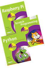 Raspberry Pi, Python and Scratch Programming in easy steps set of books