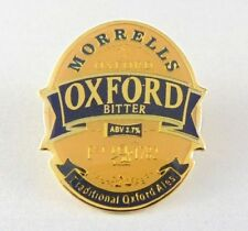 Morrells Oxford Bitter Pin Badge - Pub - Ale House - Bar -