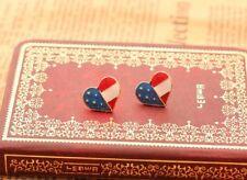 Boucle d'oreilles drapeau américain USA IDÉE CADEAU