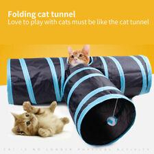 Epaw Collapsible Cat Tunnel Tube Interactive Indoor Cats Peek Hole Kitten Toys