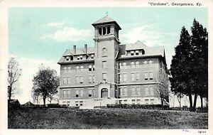 D96/ Georgetown Kentucky Ky Postcard 1933 Cardome Building