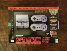 BRAND NEW Super Nintendo Entertainment System Mini SNES Classic Edition USA