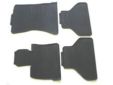 07 08 09 10 11 12 13 BMW E70 X5 08-14 E71 X6 BLACK RUBBER WINTER FLOOR MATS #14