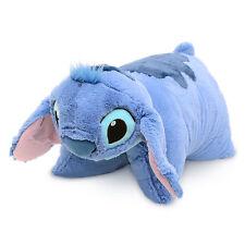 Disney Parks Authentic Stitch Blue Alien BIG Pillow Pal Stuffed Animal Plush NWT