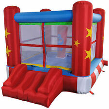 Bounce House Small Inflatable Boxing Ring Jumper Party (8.5' x 6.5' x 5.2')