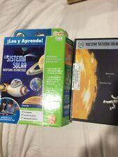 LeapFrog Lee y Aprende El Sistema Solar Tag Learn Through Reading Open Scuffed
