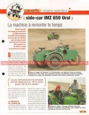 IMZ 650 URAL + Side Car 1991 Joe Bar Team Fiche Moto #00008850