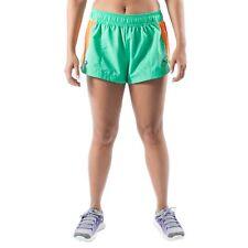 Women's PUMA Fass Split Shorts Aqua Green size L (T18) $35