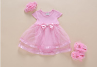 "For 22"" Reborn Baby Girl Doll Dress Romper Newborn Clothes Toy 0-3M Kids Gifts"