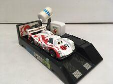 Disney Pixar Cars White Japanese Shu Todoroki Pit Stop Launcher Diecast 1:55