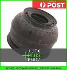 Fits HONDA INTEGRA DA5/DA6/DB1/DA7/DA8 - Lower Arm Ball Joint Boot Rubber