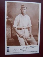 Sir Pelham Warner - Cricket  -  4 x 6  inch format