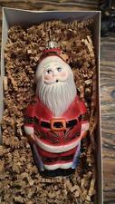 "Vaillancourt Folk Art Ornament #OR9631 ""SANTA WITH BELL"" *NIB*"