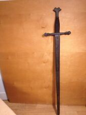 Vintage Sword Carlos V Made In Spain 8x40-1/2 Inch Long