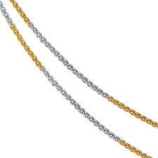 Echtschmuck-Halsketten aus mehrfarbigem Gold