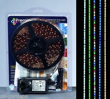 5m 300 Xmas Multi Colour LED Christmas Strip Lights Festive Indoor Outdoor Light