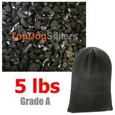 Activated Carbon Grade A 5 lbs Canister Filter Media Mesh Bag Aquarium Pond