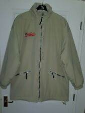 Mens KOOGA Rugby Jackets Coats In Creamy Biege size Large