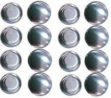 200 Self Cover Buttons 12mm FLATBACK 20L NEW TRUE FLAT BACK STYLE FREE Tool