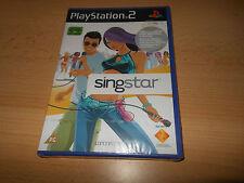 Nuevo Precintado Singstar Solus Playstation 2 PS2 Sony Versión Pal