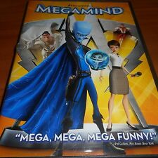 Megamind (DVD Widescreen 2011) Animated Used Dreamworks
