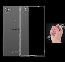 Sony Xperia Z5 Compact TPU Silikon Case Ultra dünn Schutzhülle Cover Bumper Etui