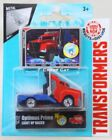 Transformers Robots in Disguise Metal Mini Car Light up Racer Optimus Prime