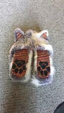 RARE 2012-2013 Spirithoods spirit hood Arctic Fox Rio Knit hat scarf mittens