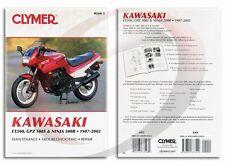 Clymer Kawasaki EX500, GPZ 500S, Ninja 500R, 1987-2002 Service Manual