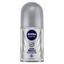 NIVEA Men Deodorant Roll-on Silver Protect Antibacterial 50ml + Free Shipping