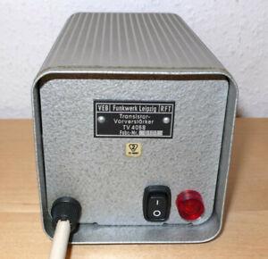 RFT VEB Funkwerk Leipzig MV 4058 Germanium Mikrofonvorverstärker / 1960er Jahre