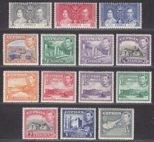 Cyprus 1938 King George VI Part Set to 4½pi Mint