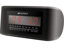 Sansui RS350 radio sveglia con ingresso AUX. Nuova.