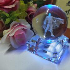 Superman Constellation 3D Crystal Night Light Table Lamp Birthday Crafts Gift