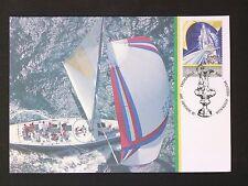 AUSTRALIA MK 1987 AMERICA`S CUP SAILING SCHIFFE SHIPS MAXIMUM CARD MC CM d1710