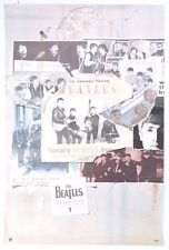 Vintage THE BEATLES Anthology 1 PROMO Poster LENNON MCCARTNEY  - RARE