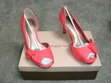 BRAND NEW IN BOX - JACQUES VERT STILETTO SHOES Size 5  COLOUR CORAL