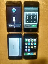 New listing Apple iPhone 3G - 16Gb - White A1241 (Gsm) 2 Locked 2 Not Lot