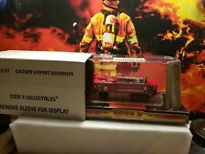 CODE 3 1/64 CALGARY INTERNATIONAL AIRPORT AUTHORITY CRASH TRUCK LIMITED EDITION