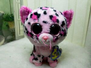 Ty Beanie Boos - GYPSY the Pink Cheetah (Justice Exclusive)(6 Inch) NEW MWMT