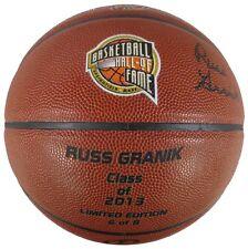 Russ Granik Autographed 2013 Hall of Fame Spalding TF-1000 Basketball 6/8