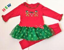 Toddler Kids Baby Girls Clothes 18M - 3T NWOT GoodLad Christmas Gingerbread Man