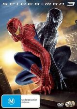 SPIDERMAN 3 DVD R4 used VGC (Tobey Maguire, Kirsten Dunst)