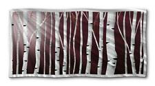 Abstract tree metal wall art landscape contemporary home decor