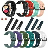 Für Samsung Galaxy Watch Active R500 Smartwatch 2Pack Silikon Armband Band Strap