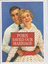 Nuestro matrimonio Guardado porno-Tarjeta de Cumpleaños Divertido Humor-HMB ~ Libre P&P