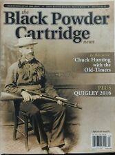 The Black Powder Cartridge News Fall 2016 Chuck Hunting Rifle FREE SHIPPING sb