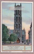 Saint Bavon Abbey Ghent Gand Belgium Gand c1920 Trade Ad  Card