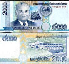 LAOS - 2000 kip 2011 FDS - UNC